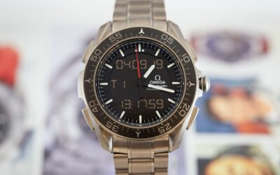 The Omega Speedmaster X-33 'Skywalker'